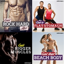 Save money! This bundle contains the Get Bigger Muscles session!