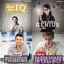 Save money! This bundle contains the Get a Razor Sharp Intellect session!