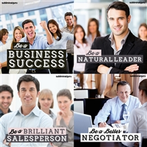 Save money! This bundle contains the Be a Business Success session!