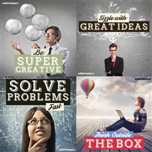 Save money! This bundle contains the Be Super Creative session!