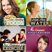 Save money! This bundle contains the Conquer Food Cravings session!