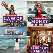 Save money! This bundle contains the Master the Law of Attraction session!