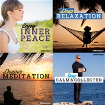 Save money! This bundle contains the Enjoy Inner Peace session!