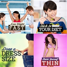 Save money! This bundle contains the Drop a Dress Size session!